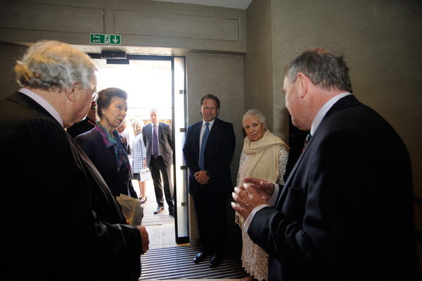 Magna Carta Vault Lord Cormack, HRH The Princess Royal, David Ross, Lin Ross