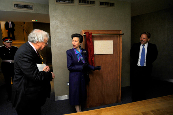 David PJ Ross Magna Carta Vault Opening with HRH The Princess Royal